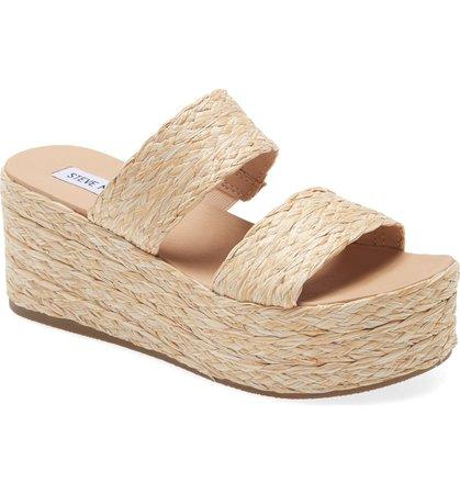 Steve Madden Jolted Platform Wedge Sandal (Women)   Nordstrom
