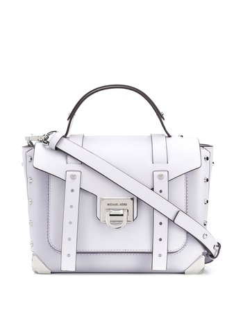 Michael Michael Kors Manhattan Satchel Bag - Farfetch