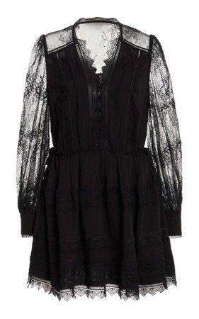 Lace Mini Dress By Self Portrait | Moda Operandi