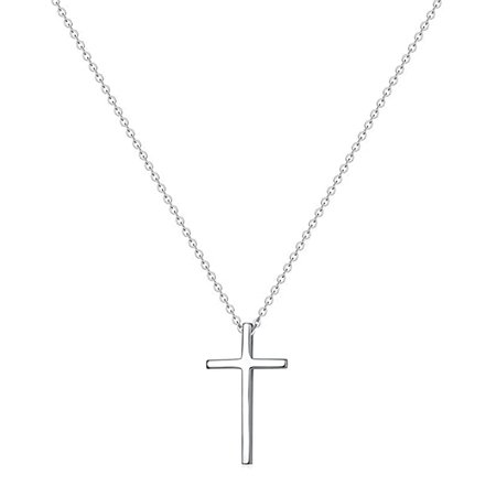 Amazon.com: XOYOYZU Tiny Cross Pendant Necklace for Women Simple Cross Necklaces Mothers Day Birthday Gifts for Women Girl (Vertical Cross): Xingyue Jewelry