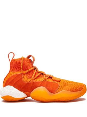 Adidas x Pharrell Williams Crazy BYW high-top sneakers - FARFETCH