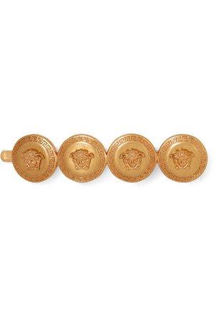 Versace   Medusa gold-tone hair slide   NET-A-PORTER.COM