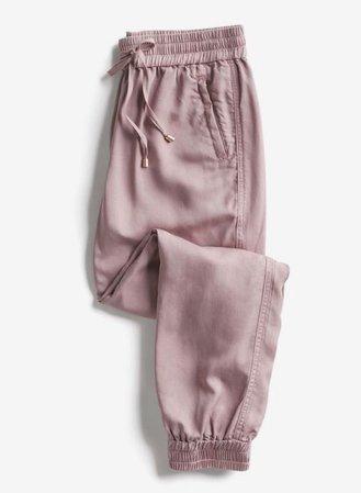 Pink Jogger Style Sweatpants