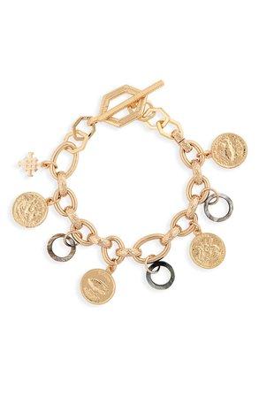 Akola Abalone & Horn Charm Bracelet | Nordstrom