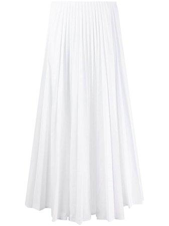 Valentino high-waisted Pleated Midi Skirt - Farfetch