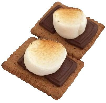 brown s'mores png filler