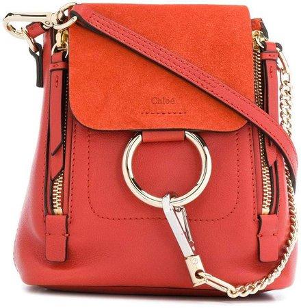 Faye Mini Leather Backpack