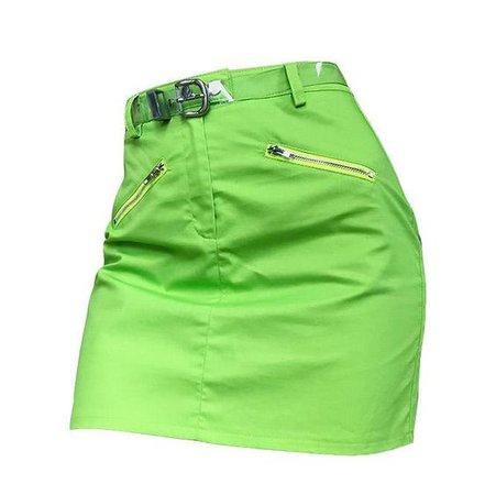 green skirt png