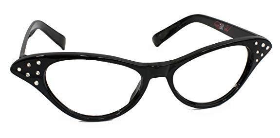 Amazon.com: Hip Hop 50s Shop Kids Cat Eye Glasses: Clothing