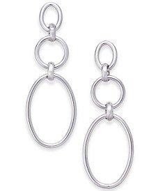 alfanis silver tone triple drop earrings - Shop for and Buy alfanis silver tone triple drop earrings Online - Macy's