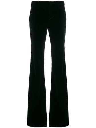 Black Gucci Flared Trousers | Farfetch.com