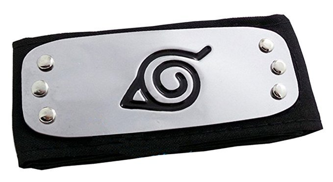 naruto forehead protector png - Google Search