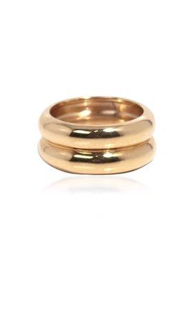 Varro Gold-Plated Ring By Young Frankk | Moda Operandi