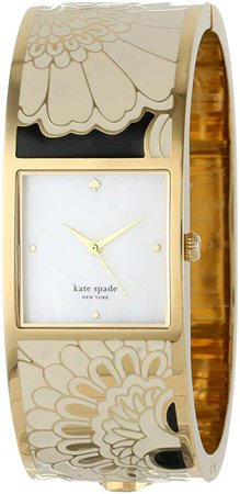 Amazon.com: kate spade new york Women's 1YRU0055 Japanese Floral Delacorte Watch: Clothing