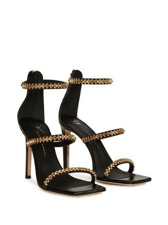 Giuseppe Zanotti Nerissa Embellished Sandals - Farfetch