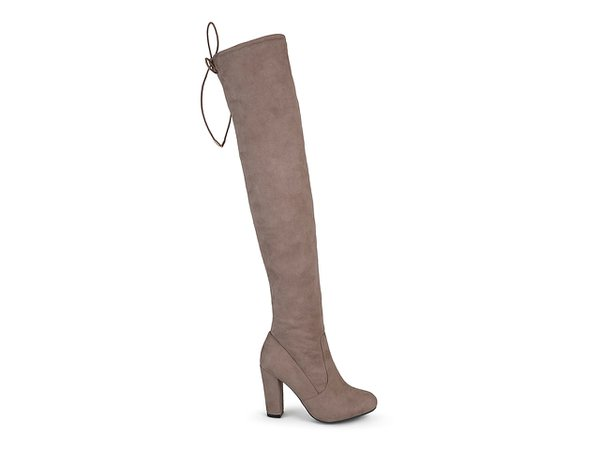 Journee Collection Maya Thigh High Boot Women's Shoes | DSW