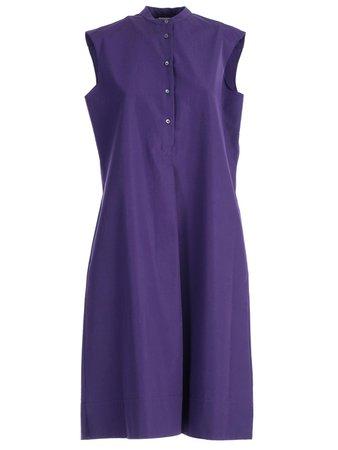 Aspesi Mandarin Collar Shirt Dress