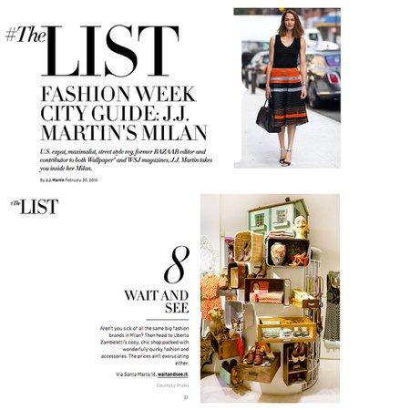 Wait And See Abbigliamento a Milano   Wait and See Shop Milan