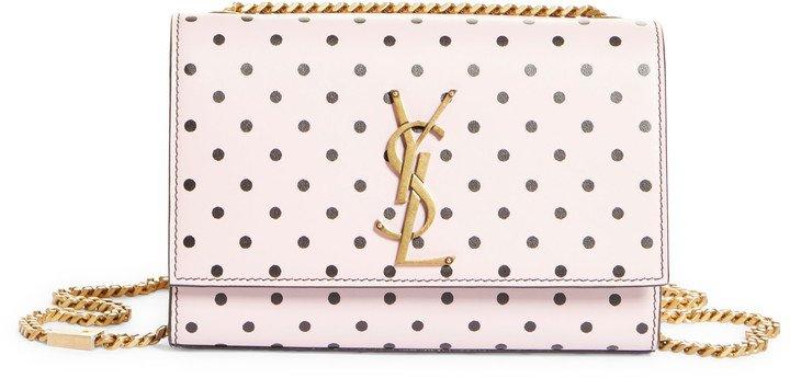 Small Kate Dot Leather Shoulder Bag