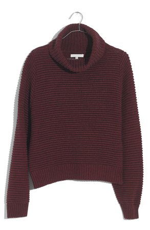 Madewell Side Button Turtleneck Sweater | Nordstrom