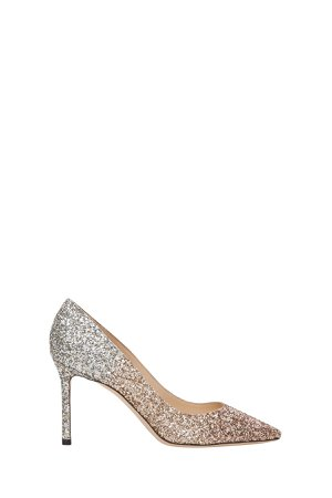 Jimmy Choo Romy Glittered Pumps With Gradient Effect