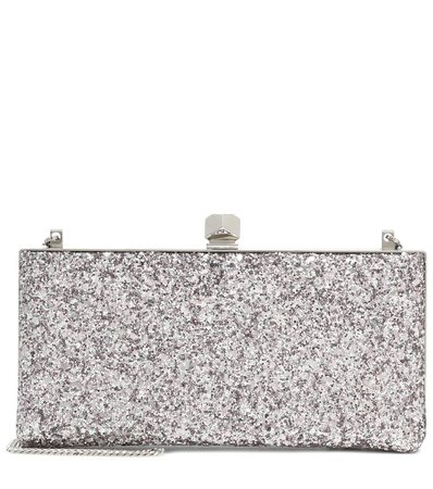 Jimmy Choo, Celeste Small Glitter Clutch