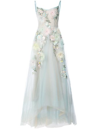 Embellished Ball Gown - Marchesa Notte