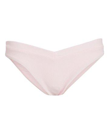 Frankies Bikinis Austin Ribbed Bikini Bottoms | INTERMIX®