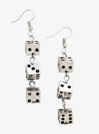 Dice Dangle Earrings
