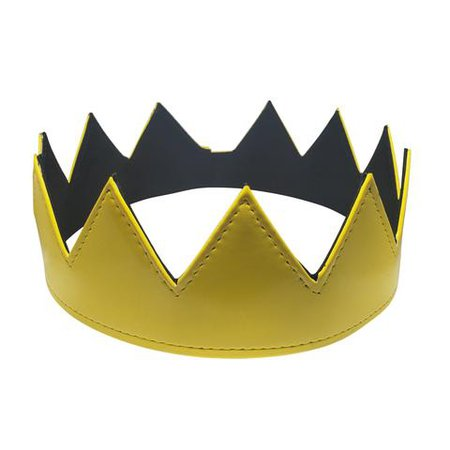 Yellow Patent Leather Crown | Eyehunee