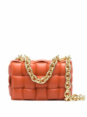 Bottega Veneta Chain Cassette Shoulder Bag