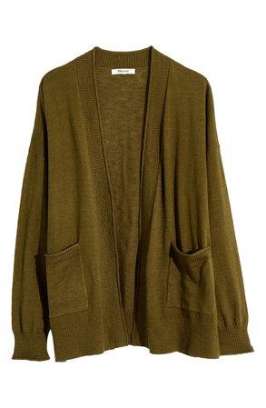 Madewell Bradley Cardigan Sweater (Regular & Plus) | Nordstrom