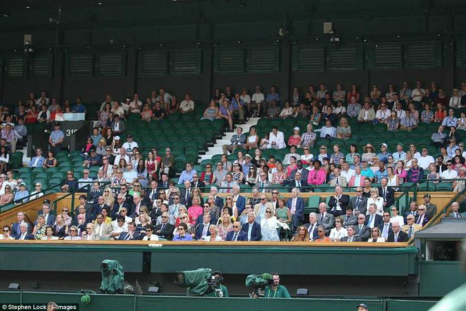 Who's who in the Royal Box at Wimbledon | Societal News