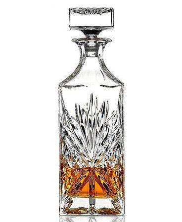 Amazon.com | James Scott Lead Free Crystal Liquor Whiskey and Wine Decanter Irish Cut 1 Piece 750ml.: Liquor Decanters: Liquor Decanters