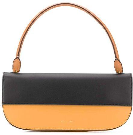 Color-Block Baguette Tote Bag