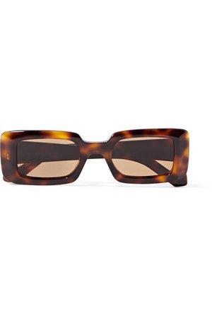 Loewe | Square-frame tortoiseshell acetate sunglasses | NET-A-PORTER.COM