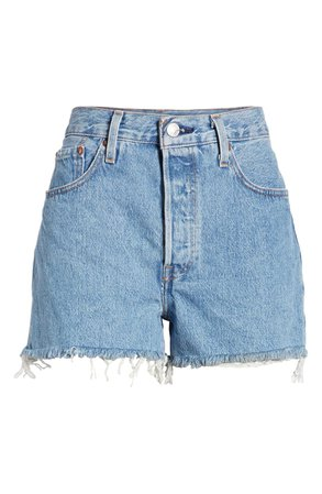 Levi's® 501® High Waist Cutoff Denim Shorts (Flat Broke) | Nordstrom