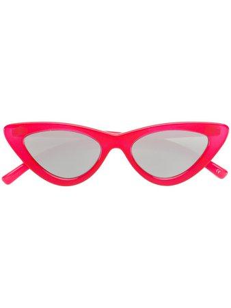 Le Specs Le Specs x Adam Selman The Last Lolita Sunglasses - Farfetch