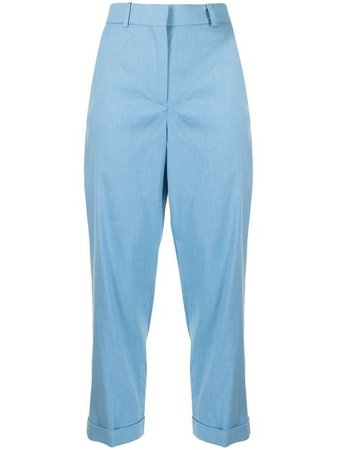 Joseph high-waisted straight leg trousers with Express Delivery - FARFETCH