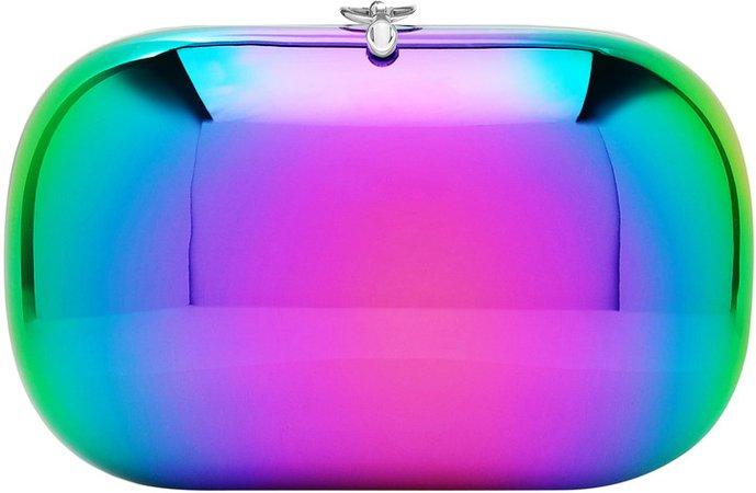 Elina Plus Mirror Iridescent Clutch