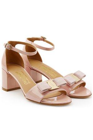 Vara Patent Leather Sandals Gr. US 9.5