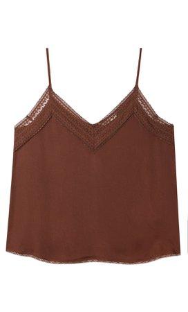 Camisole top - Women's Shirts & Blouses | Stradivarius United States