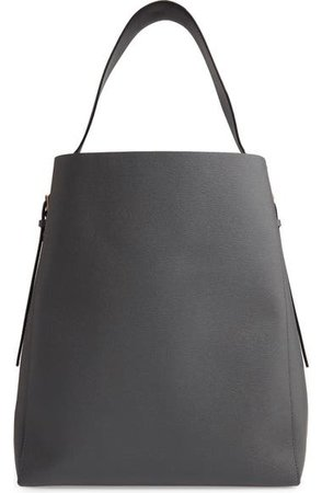 Valextra Sacca Leather Hobo | Nordstrom