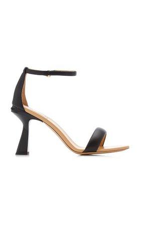 Carene Leather Sandals By Givenchy   Moda Operandi