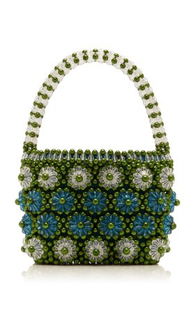 Shelly Beaded Tote by Shrimps | Moda Operandi