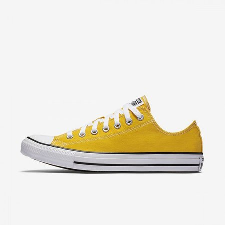 Converse Chuck Taylor All Star Low Top Yellow Lifestyle Shoes 130129F-700 | 2017 Nike Shoes Store