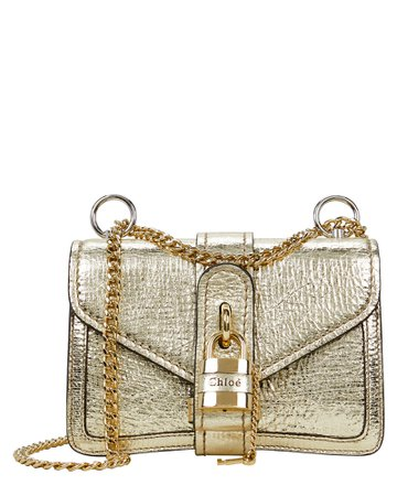 Chloé Aby Mini Chain Shoulder Bag | INTERMIX®