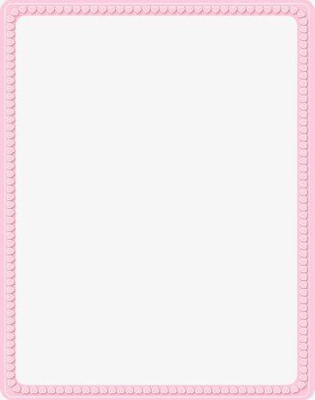 Rectangular Pink Heart-shaped Decorative Border PNG, Clipart, Border, Border Clipart, Borders, Decorative, Decorative Clipart Free PNG Download