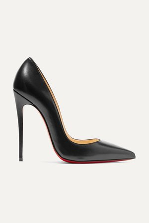 Black So Kate 120 leather pumps | Christian Louboutin | NET-A-PORTER