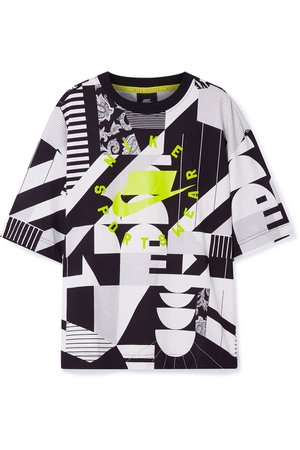 Nike | Oversized printed cotton-jersey T-shirt | NET-A-PORTER.COM